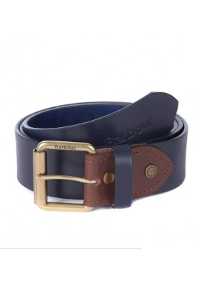 Męski pasek-Barbour Contr.Lether Belt