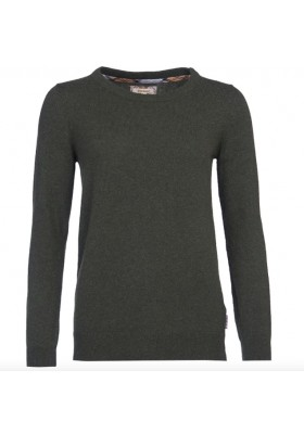 Damski sweter - Barbour Pendle Crew Sweater