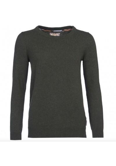 Damski sweter - Barbour Pendle Crew Sweater