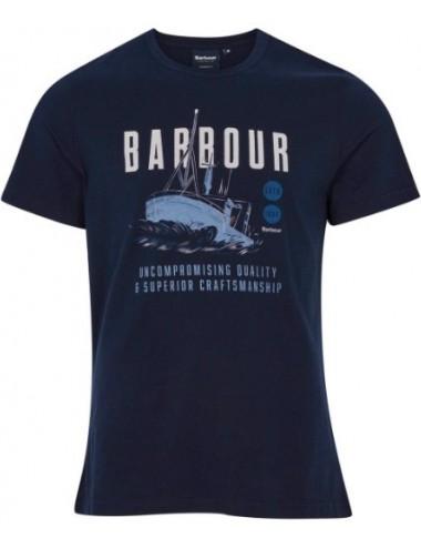 Męski t-shirt - Men's Barbour Storm Tee