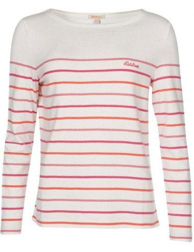 Damska bluzka -Women's Barbour Hawkins Stripe Top