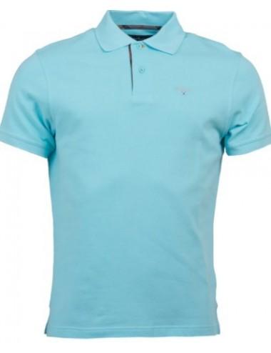 Męskie Polo - Men's Barbour Tartan Pique Polo Shirt