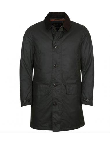 Męski płaszcz - Barbour Wax...
