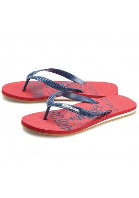Męskie japonki- Barbour Beacon Abstract Flip Flops